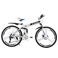 ALTRUISM/熙睿 山地自行车X9 Pro 双碟刹折叠自行车24速26寸高碳钢女士男士自行车学生单车
