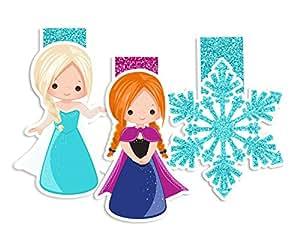 Fairytales and Princesses 磁性书签,规划者页记号笔 The Snow Queen Fan Art
