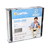 Xlyne DVD-RW 光盘 4,7 GB,4 倍速度,5 倍超薄外壳