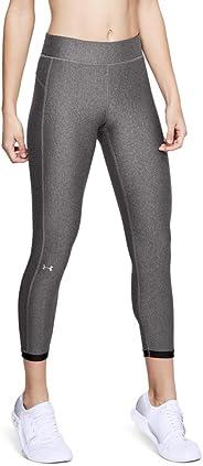 Under Armour 安德玛 HG Armour Ankle Crop 女式 3/4 瑜伽训练裤 弹性舒适训练紧身裤