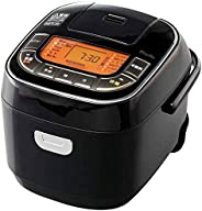 IRIS OHYAMA 爱丽思 电饭锅 3合(约0.5L )微电脑式 31品种烹饪功能 超厚火电饭锅 糙米 黑色 RC-MC30-B 需配变压器