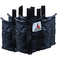 ABCCANOPY 工业级加重袋,弹出式遮蓬腿重量 4 件套 4 x big weight bags