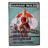 UNiQ Designs 男士洞穴车库主题 Uniq Designs Garage Rules X4 - Portrait