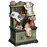 (1, classic) - cosmos 80095 fine porcelain catch me if you can cat musical figurine, 15cm