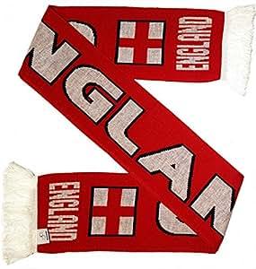 英格兰足球针织围巾(双球衣颜色)
