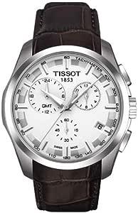 TISSOT 天梭 瑞士品牌 Couturier库图系列商务石英手表 男士碗表  T035.439.16.031.00