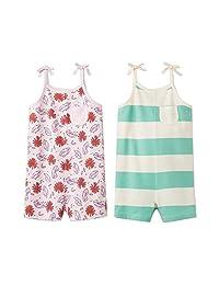 Cat & Jack 女童 2 件装连体衣(浅粉色/薄荷色) 2T