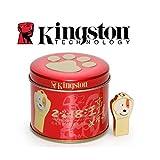 金士顿(Kingston)64GB USB3.1金属U盘 DTCNY18 个性车载U盘 十二生肖之狗年纪念版