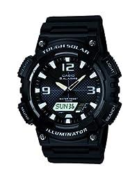 CASIO 系列男式 ANALOGUE/数字石英手表树脂带–AQ-S810W