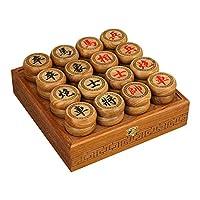 御圣-中国象棋套装-花梨木棋子-木盒装-送PU棋盘象棋入门书