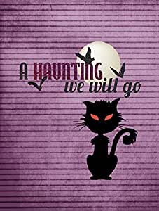 A Haunting we will go Halloween Flag 多色 大
