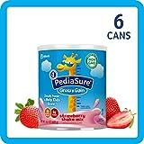 美国雅培小安素 Pediasure Grow & Gain儿童营养奶昔 草莓味(400g/14.1 oz) 6罐