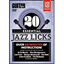 20 Essential Jazz Licks: Learn to Play in the Styles of...