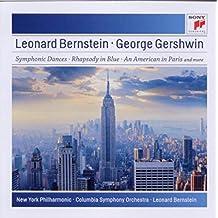 进口CD:伯恩斯坦(指挥)/盖希文:西城故事/蓝色狂想曲/一个美国人在巴黎 Bernstein/Gershwin Orchestral Works(CD)88697757642