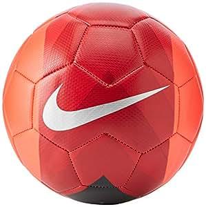 Nike Unisex's NK PHANTOM VEER Soccer Ball, Bright Crimson/Black/Metallic, 5