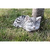 Hi- Line Gift 87699-C 猫咪睡觉灰色猫形象