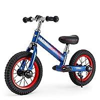 (买就送MINI护膝护肘)RASTAR 宝马MINI 儿童平衡车 宝宝滑行车 男女童车自行车无脚踏12寸 (闪电蓝)