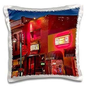 danita delimont–ROUTE 66–ROUTE 66, CENTRAL 大道, albuquerque ,新墨西哥州–us32cha0006–CHUCK haney–枕套