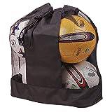 超大网球包防水设备行李袋重型网球单肩包篮球排球足球地毯足球便携包收纳袋带拉绳适用于 10-15 球