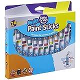 Little Brian LBPS05MCMDA24 迷你涂漆棒 - 24 种颜色