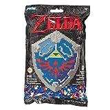 Perler Beads Nintendo's The Legend of Zelda Hylian 盾牌图案和熔珠套装,10.75 英寸 X 13 英寸,3503 件