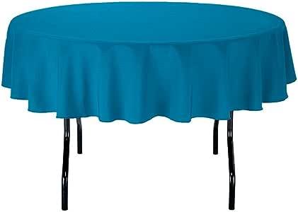 Gee DI MODA 桌布–7.62cm 圆形 tablecloths 适用于圆形桌布 IN 可水洗涤纶–非常适合 buffet 台,聚会,假期 dinner & More