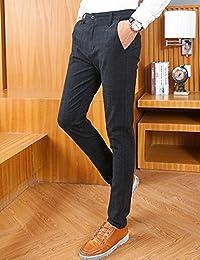 MPSMOVE 思慕夫 《休闲系列》2018夏季新款直筒休闲裤子男士修身男款休闲长裤UK827【417】