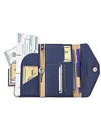 ivesign 旅行护照钱包三折信封文件收纳支架免费赠送圆珠笔