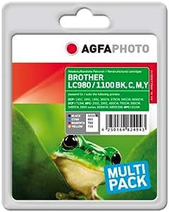 用于 Brother 的 AgfaPhoto 墨水 多包装