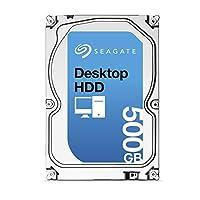 Seagate 4TB 台式硬盘 SATA 6Gb/s 64MB 缓存 3.5 英寸内置裸机 (ST4000DM000) ST500DM002 7200RPM 500 GB