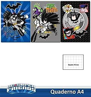 Viscio Trading 170893 quaderno 蝙蝠侠,纸张,多色,0.1 X 20 X 32 厘米,5 件