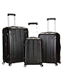 Rockland Luggage 3 Piece Sonic Upright Set 黑色 均码