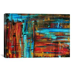 iCanvasART MDN94 Into Autumn by Megan Duncanson Canvas Print, 12 by 8-Inch, 0.75-Inch Deep