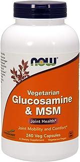 NOW 诺奥氨基葡萄糖和MSM,240粒素食胶囊