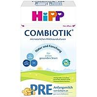 HiPP 喜宝 Bio认证 Pre段 初生婴儿奶粉,4罐装 (4 x 600g)(新老包装 随机发货)