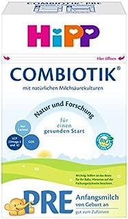 HiPP 喜宝 Pre Bio ComBiotik 初始营养奶粉 适合新生儿宝宝 4件装(4 x 600 g)