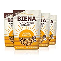 Biena 万圣节单杯松脆鸡梨零食 5 Ounce (Pack of 4)