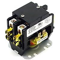 Yuco YC-PBC402-1 無線触点 2-极 40-Amp 24V 交流线圈