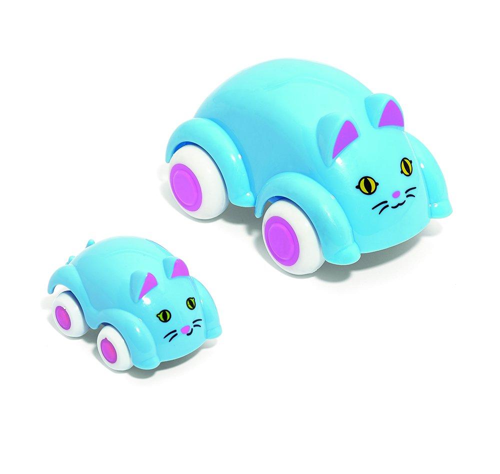 Viking Toys 可爱汽车母婴猫车辆玩具套装