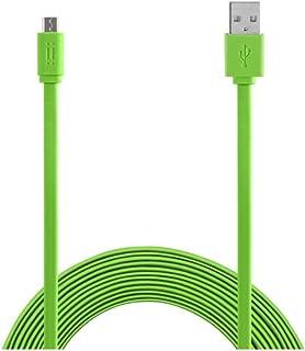 Aiino aicsmcrusb - 三星 Micro USB 数据线AICSMCRUSBF-GR Micro USB Cable to 1.5m Flat USB cable 绿色