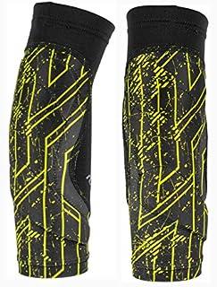 Reusch 男式高级肘部保护套足球保护套,男式,3877516,黑色/石灰绿