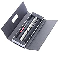 LAMY 凌美 AL-star恒星系列标准F尖墨水笔(钢笔)金属灰-E107礼盒包装(标配吸墨器)