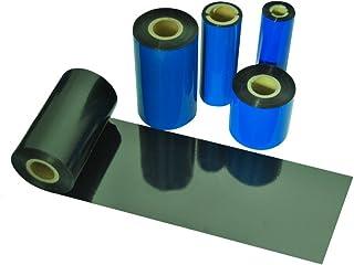 Beyond Barcode 热转印丝带 TTR 树脂增强蜡丝带 适用于斑马打印机 黑色