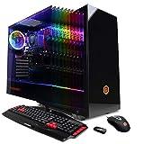 CyberpowerPC Gamer Master GMA888A Gaming PC (AMD Ryzen 3 2300X 3.5GHz, 8GB DDR4, AMD Radeon R7 240 2GB, 120GB SSD, 1TB HDD, 802.11AC WIFI & Win 10 Home) Black