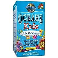 Garden of Life - 海洋孩子DHA Chewables莓果石灰 - 120软胶囊