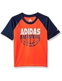 adidas 男孩主动 T 恤