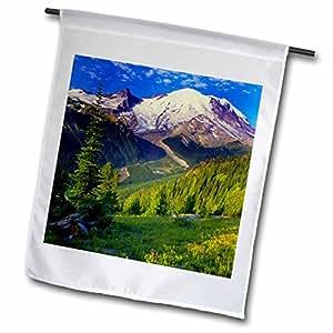 danita delimont–华盛顿–美国,华盛顿, rainier 国家公园–us48rdu0093–Richard duval–旗帜 12 到 18 英寸
