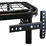 Boyd Sleep Basics 可调节床垫框架配件:通用头板/脚板支架 多种颜色 Universal (One Size) HD500BRACK