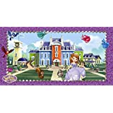 Disney Sofia the First Scene Setter Wall Decoration, 5ft x 2.5ft