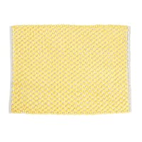 OKA POCOMOCO 色调超细纤维 浴室垫(吸水、速干) 黄色 約45cm×60cm 4548622660388